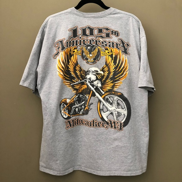 Other - 105TH ANNIVERSARY MILWAUKEE, WI Motorcycle Eagle